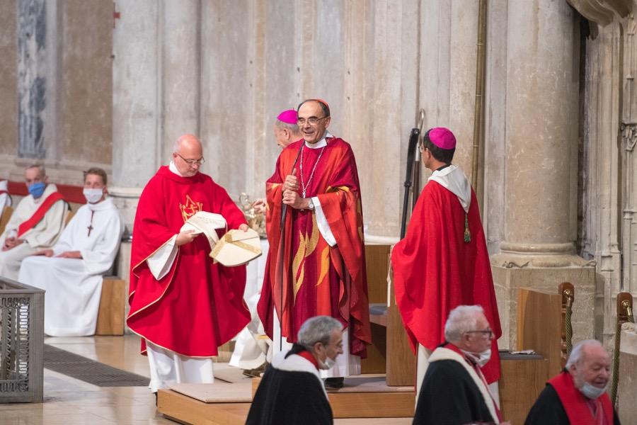 Messe d'aurevoir au cardinal Barbarin
