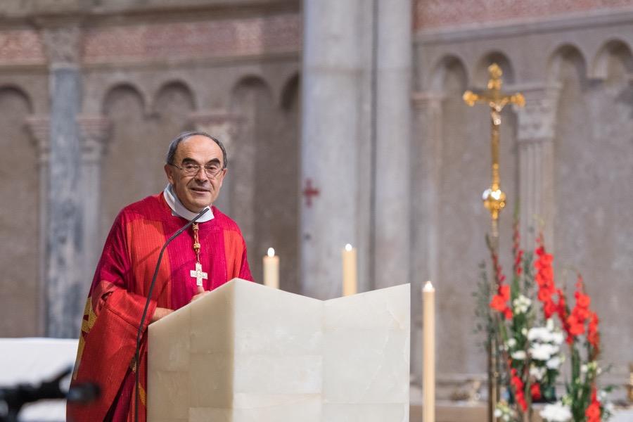 Messe d'aurevoir au cardinal Philippe Barbarin