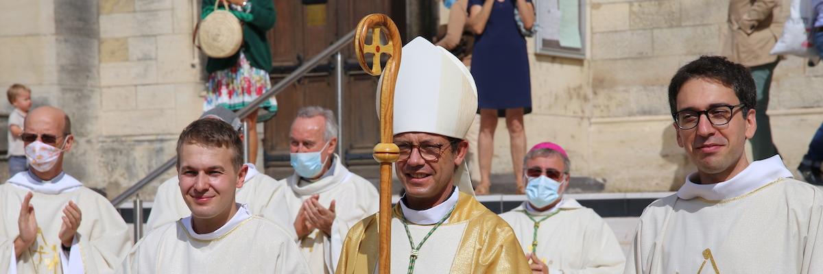 Homélie pour l'ordination des diacres