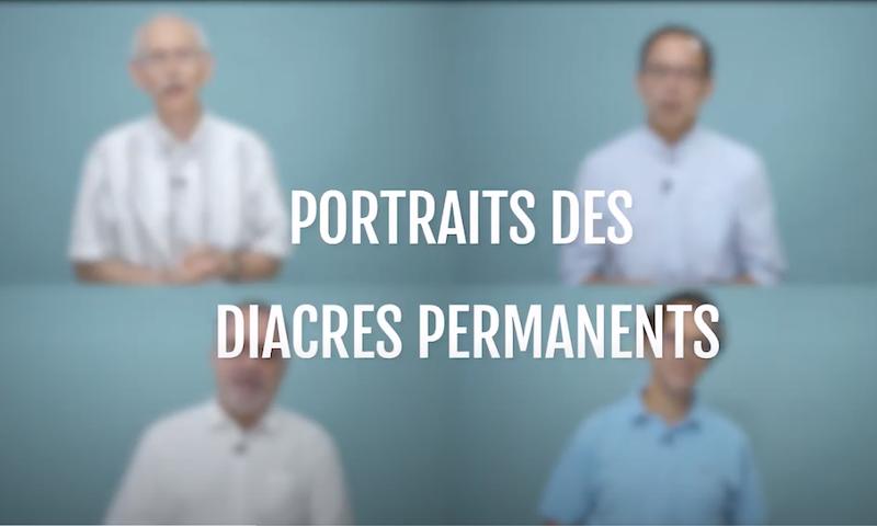 Portraits des futurs diacres permanents