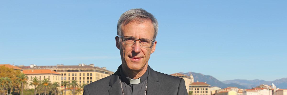 Monseigneur Olivier de Germay, nommé archevêque de Lyon
