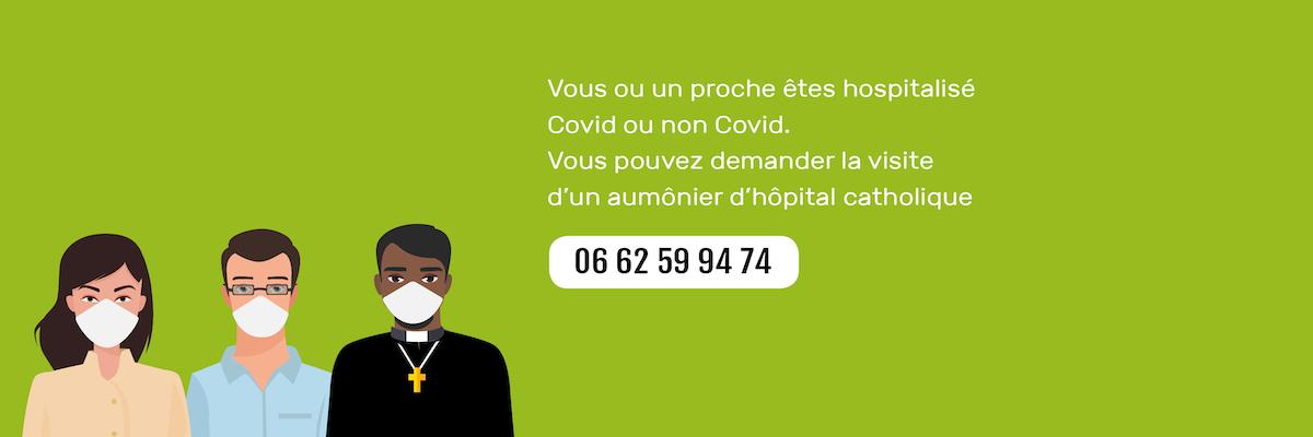Coordonnées des équipes d'aumôneries à contacter lors d'une hospitalisation