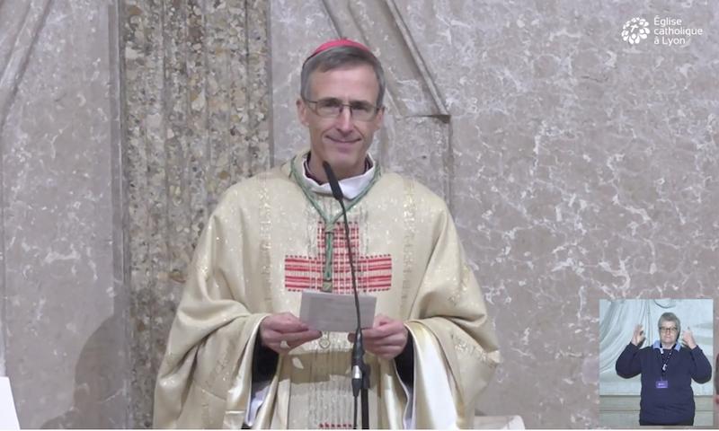 Allocution de Mgr Olivier de Germay – 20 décembre 2020
