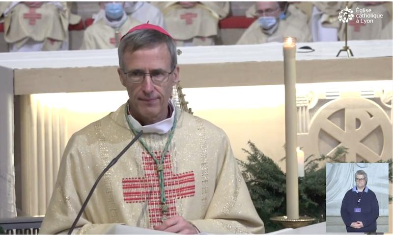 Homélie de Mgr Olivier de Germay – 20 décembre 2020