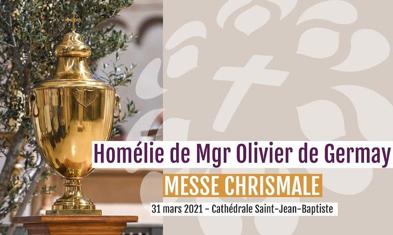 Homélie de la messe chrismale 2021