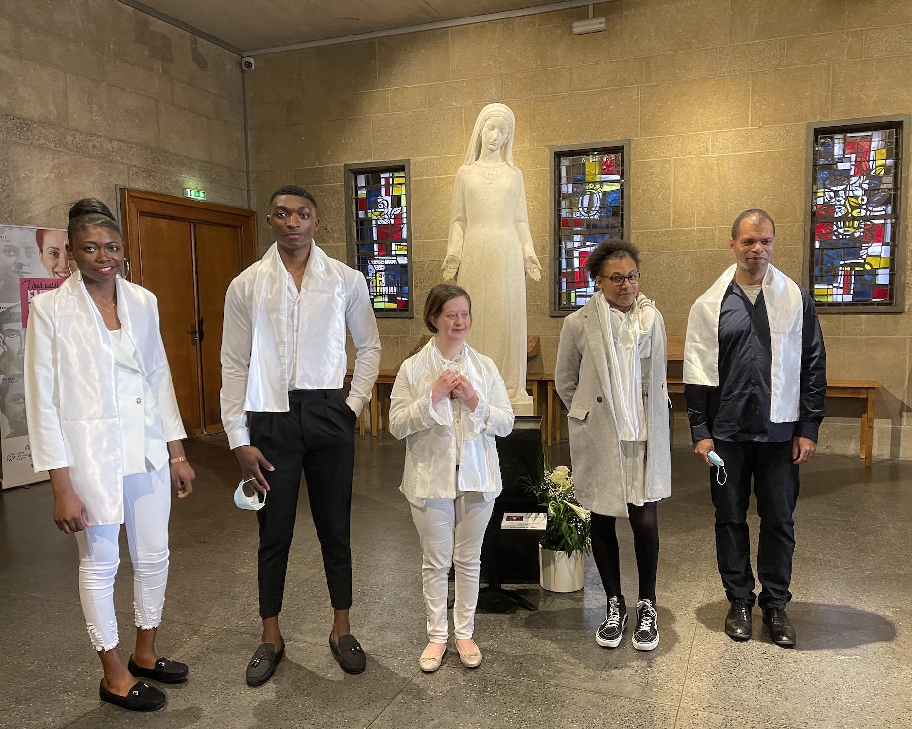 Nouveaux baptisés de la paroisse de Vaise