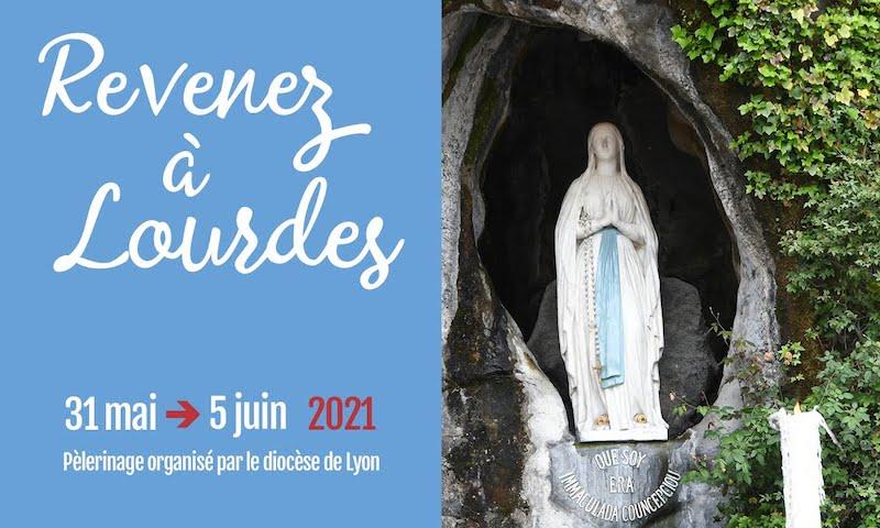 Mgr Olivier de Germay vous invite à Lourdes