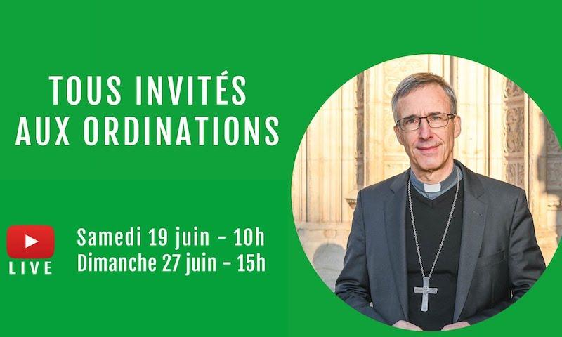 Tous invités aux ordinations !