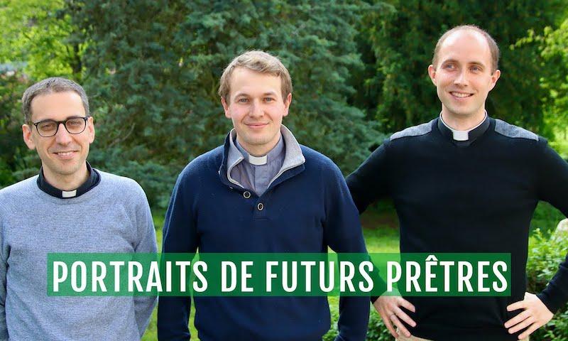 Portrait croisé de futurs prêtres