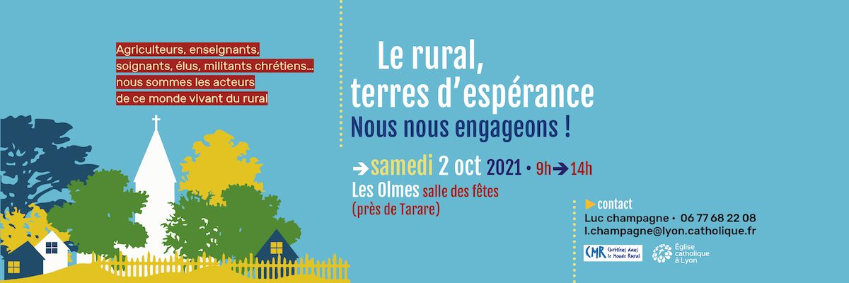 Le rural, terres d'espérance : nous nous engageons !