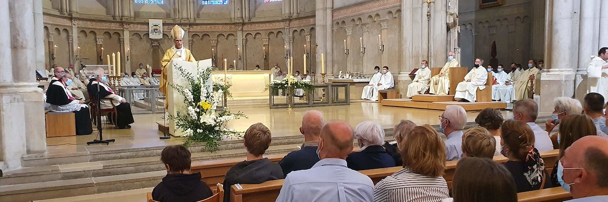 Homélie de Mgr Olivier de Germay du 26 septembre 2021